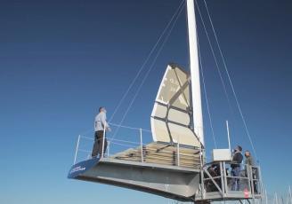 Solid Sail 2.0, une voile 100% composite