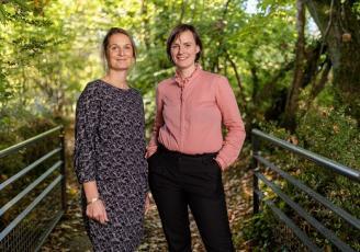 Alice Le Breton Ponsar et Amélie Tinet Boussion, cofondatrices de la plateforme Equilibre