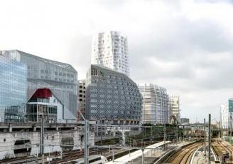 Le Quartier d'affaires Euro Rennes, situé à proximité de la Gare LGV a entrainé depuis trois ans,  une explosion du neuf dans ce secteur de la ville.