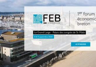 Le Forum Économique Breton réunira les acteurs économiques et institutionnels les 8 et 9 septembre 2020 au Palais du Grand large à Saint-Malo