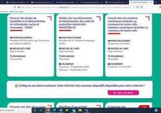 Fance Relance Bretagne recense quelque 95 dispositifs à destination des entreprises bretonnes