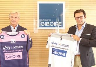 Michel Giboire, Président du Groupe Giboire, et Stéphane Clémenceau, Président du CRMHB