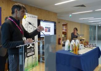 Gilles Barbé , Président d'Initiative Bio Bretagne (IBB)