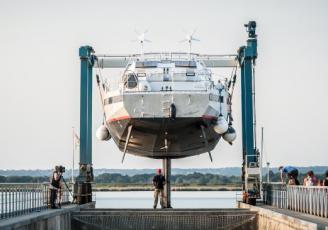 Le premier voilier-cargo Grain de Sail a été mis à l'eau