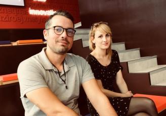 Julien Mouazan et Noémie Guillois-Audic ont lancé leur nouvelle version de Happywait le 1er octobre