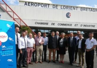 Aéroport Lorient Lyon Paris