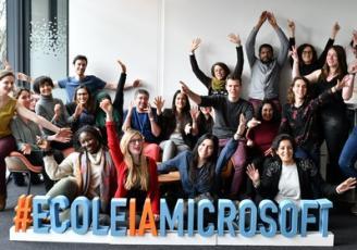 Microsoft va inaugurer en mars 2020 à Rennes, sa 11e école d'intelligence artificielle