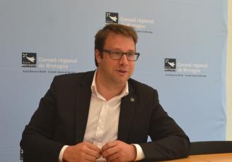 Loïg Chesnais -Girard , Président du Conseil régional de Bretagne