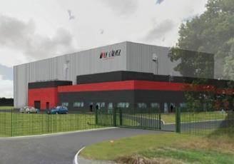 A Cholet, Cet investissement, de l'ordre 5 millions d'euros, s'étend sur un ensemble de terrain de 35 000 m².