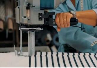 """La bonneterie Le Minor dans le Morbihan est une des 10 entreprises industrielles bretonnes à bénéficier des premiers fonds du Plan """"France Relance"""""""