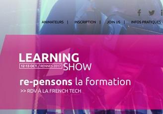 Rennes, les 13 et 14 octobre 2017 : learning Show, un évènement qui revisite notre façon d'apprendre