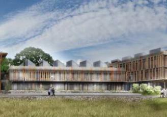 Projet de construction du lycée de Liffré (35)