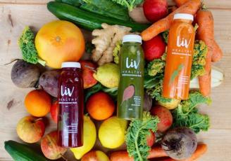 LIV Healthy, jeune start-up du secteur de l'agro-alimentaire, lance, depuis Dinard (35) une  nouvelle marque de jus crus pressés à froid et bio, non pasteurisés