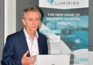 Marc Le Flohic, PDG et Fondateur de Lumibird à Lannion dans les Côtes d'Armor