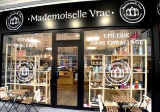 Mademoiselle Vrac est un concept d'épiceries sans emballages superflus, dont la 12e boutique ouvre à Saint-Malo, ce 17 juin.