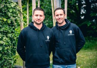 Mathieu Romeuf et Tom Marsal, les co-fondateurs de SportRizer.