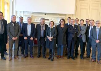 Michèle Kirry, préfète de la région Bretagne, a réuni l'ensemble des représentants du monde économique breton afin de faire un point de situation sur les entreprises bretonnes impactées par le mouvement des « gilets jaunes
