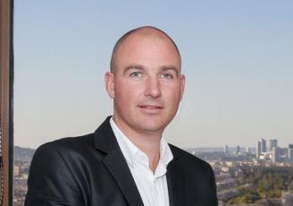 Soig Le Bruchec, un des deux cadres dirigeants de l'entreprise Néo-Soft