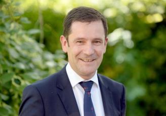 Damien Ruaud , nouveau pérsident du conseil régional des notaires en Bretagne