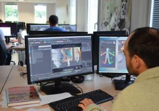Le studio d'animation o2o parteniare de l'école de Design de Saint-Malo