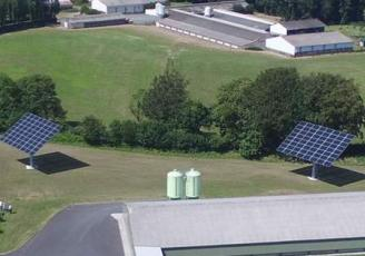 A Vitré, OKWind fabrique des trackers solaires et surfe sur le marché de l'auto-consommation en plein développement en France mais aussi à l'étranger.