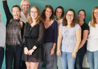 Toute l'équipe d'O'nidou à Rennes