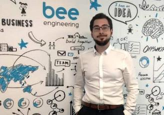 Responsable opérationnel Grand Ouest au sein de Bee Engineering, en charge de l'agence de Rennes, installée depuis juin 2020 dans le quartier de la Courrouze.