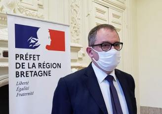 Emmanuel Berthier, nouveau préfet de la région Bretagne, de la zone de défense et de sécurité Ouest et d''Ille-et-Vilaine