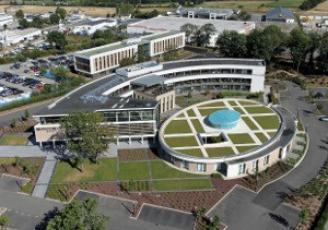 Le siège social  du Breton Samsic est installé à Cesson-Sévigné aux portes de Rennes.
