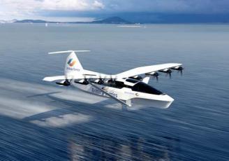 À mi-chemin entre l'hydroglisseur et l'avion, le Seaglider fonctionne avec l'effet de sol. Entièrement électrique, il a été inventé par la Start-up Regent