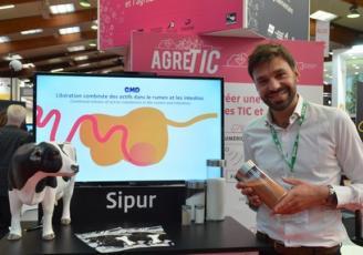 David Descrot, fondateur de Sipena à Saint-Malo est présent au Space du 12 au 15 septembre 2017 sur le stand Agretic.