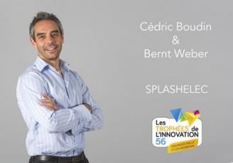 Cédric Boudin de Splashelec, Lauréat du public en 2016.