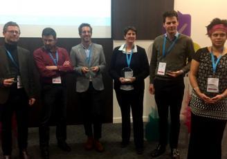 Les lauréats de l'édition 2019 de Start West qui s'est déroulée à Rennes, le 21 mars