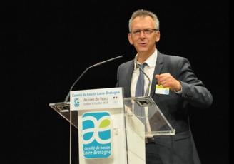 Vice-Président du Conseil régional, en charge de l'eau, Thierry Burlot vient d'être nommé président du Cercle Français de l'Eau (CFE