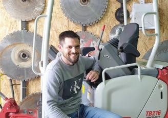 Reprise en septembre 2018 par Fabien Hubert, l'entreprise TMPS se définit comme un urgentiste du bâtiment, spécialiste du carottage et de la découpe au disque pour des démolitions d'ouvrages précises et propres