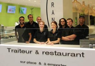 Le restaurateur asiatique, Tran, a expérimenté Ocitô sur Angers depuis le début de l'année et l'utilise pour son site de Rennes à Grand Quartier,