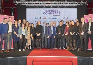 Le mercredi 11 décembre a eu lieu la 6ème édition des Trophées du Commerce du Pays de Rennes au MeM.