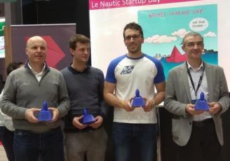 •Absolute Dreamer, Inobo , Ino-rope et Carenecolo ont  été primées par les deux French Tech de Rennes Saint-Malo et Brest+au salon Le Nautic à Paris.