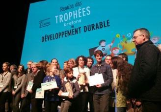 Les cinq lauréats de la 11e édition des Trophées bretons du développement durable viennent d'être récompensés au Palais du Grand Large à Saint-Malo.