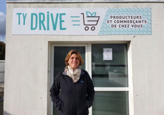 Sandrine Kerlidou créé Ty Drive, une e-boutique de produits locaux