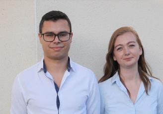 Antoine Royer et Nathalie Cochard, cofondateurs de Unicorn Security
