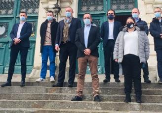 """La ville de Vannes, l'association Coeur de Vannes, l'UMIH et le GNI lancent l'opération """"Vos restaurateurs dans vos supermarchés"""""""