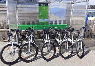 Vélec a déjà installé plusieurs stations de location de vélos électriques en libre service