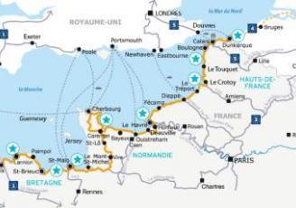 La Vélomaritime, véloroute de 1 500 kilomètres entre Roscoff et Dunkerque, sera disponible dans sa quasi intégralité dès juin 2021