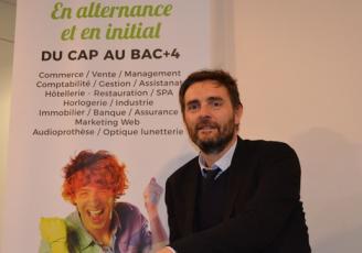 Vincent Bobot, directeur général de la faculté des Métiers de Rennes