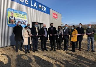 Inauguration de l'usine JB Océane à Concarneau, via Breizh Immo