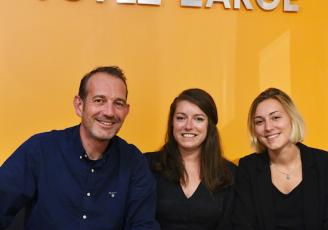 Olivier Leblanc, Cannelle Brichet et Eva Bohmert, les nouvelles directrices de l'agence