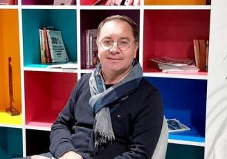 Olivier Méril a créé Médiaveille, en 1999, à Rennes, aujourd'hui rebaptisée Yumens