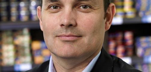 Loïc Hénaff, président du directoire de l'entreprise Hénaff