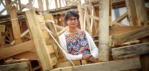 Bénédicte Piffeteau, Responsable des Ressources Humaines aux Ateliers du Douet, à Saint-Sauveur-des-Landes